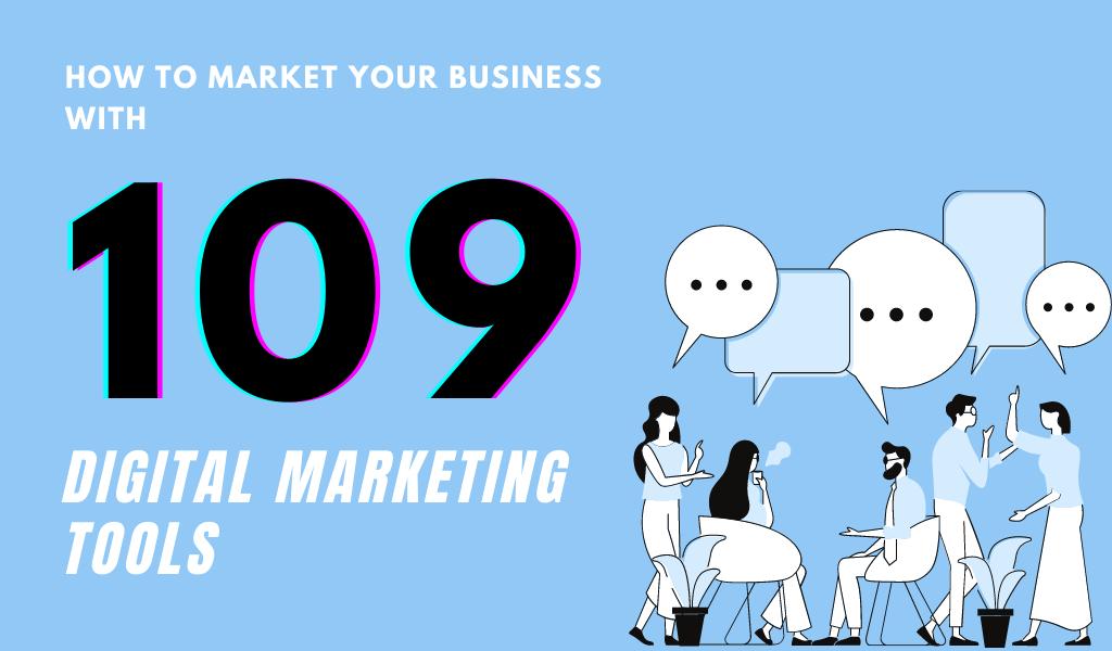 109 Marketing Tools