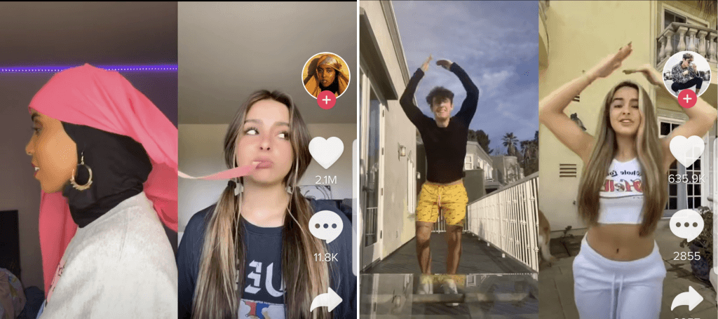 Collaborate with other TikTok creators to increase your odds of growing your TikTok.